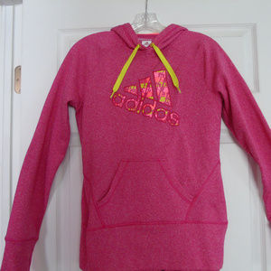Adidas Women's Climawarm Ultimate Hoodie Pink S